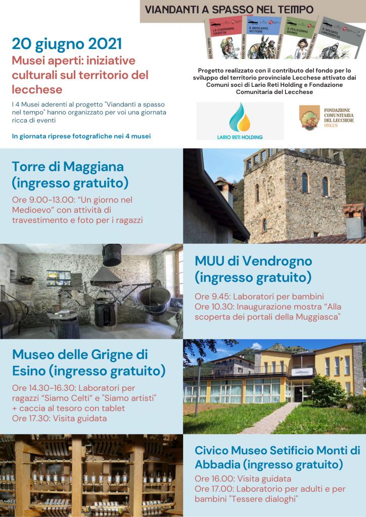 20 giugno 2021 Giornata di eventi per i musei del bando promosso da Fondazione Comunitaria del Lecchese e Lario Reti Holding (1)