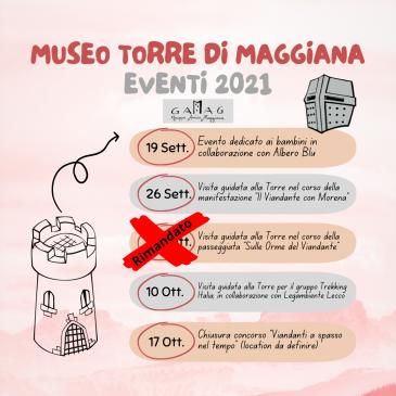 Rinviato evento 26 settembre 2021